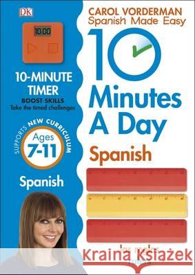 10 Minutes a Day Spanish Carol Vorderman 9780241225325