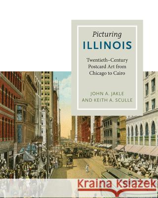 Picturing Illinois: Twentieth-Century Postcard Art from Chicago to Cairo John A. Jakle Keith A. Sculle 9780252036828
