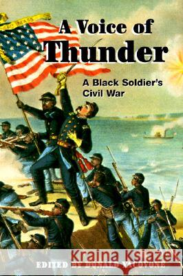 A Voice of Thunder : A BLACK SOLDIER'S CIVIL WAR George Stephens Donald Yacovone  9780252067907