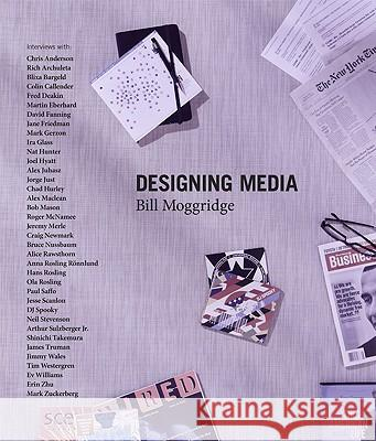Designing Media [With DVD] Bill Moggridge 9780262014854