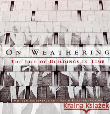 On Weathering: The Life of Buildings in Time Mohsen Mostafavi David Leatherbarrow 9780262631440