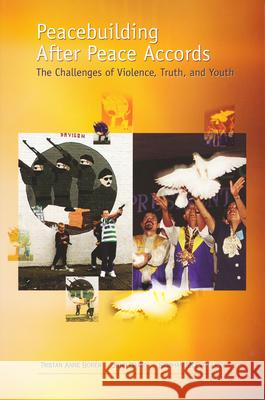 Peacebuilding After Peace Accords : The Challenges of Violence, Truth and Youth Tristan Anne Borer John Darby Siobhan McEvoy-Levy 9780268022044