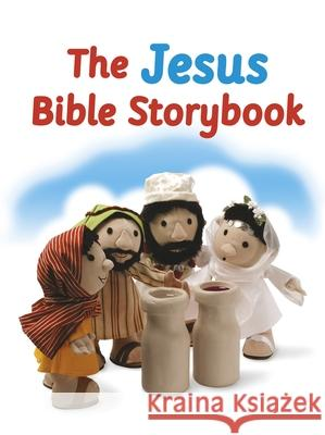The Jesus Bible Storybook: Adapted from the Big Bible Storybook Maggie Barfield 9780281082568