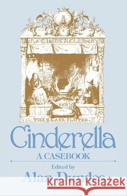 Cinderella Alan Dundes 9780299118648 University of Wisconsin Press