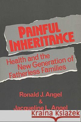 Painful Inheritance: Health and the New Generation of Fatherless Families Ronald J. Angel Jacqueline L. Angel 9780299139643