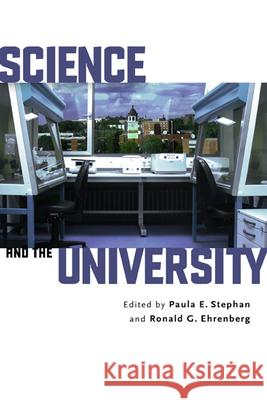Science and the University Paula Stephan Paula E. Stephan 9780299224806