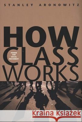 How Class Works: Power and Social Movement Stanley Aronowitz 9780300105049