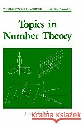 Topics in Number Theory J. S. Chahal 9780306428661