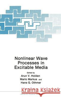 Nonlinear Wave Processes in Excitable Media Holden                                   Arunn V. Holden Mario Markus 9780306438004