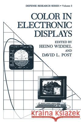 Color in Electronic Displays Heino Widdel Heino Widdel David L. Post 9780306441912