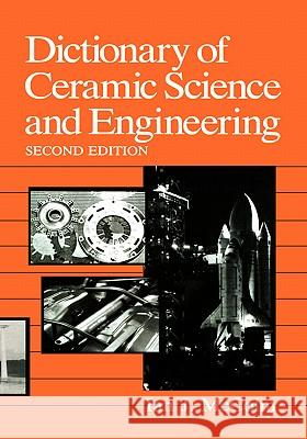Dictionary of Ceramic Science and Engineering I. J. McColm McColm 9780306445422