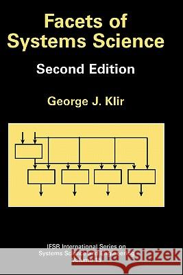 Facets of Systems Science George J. Klir 9780306466236