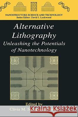Alternative Lithography: Unleashing the Potentials of Nanotechnology Clivia M. Sotomayor Torres C. M. Sotomayo 9780306478581