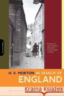 In Search of England H. V. Morton Jan Morris 9780306811050 Da Capo Press