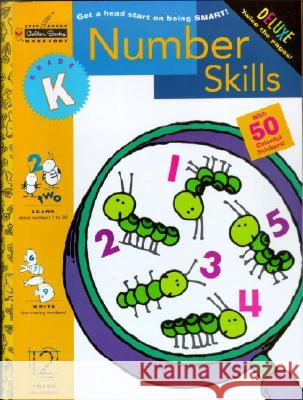 Number Skills (Kindergarten) Golden Books                             Golden 9780307036650