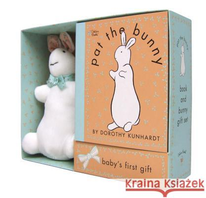 Pat the Bunny Book & Plush (Pat the Bunny) [With Paperback Book] Dorothy Kunhardt Dorothy Kunhardt 9780307163271 Golden Books