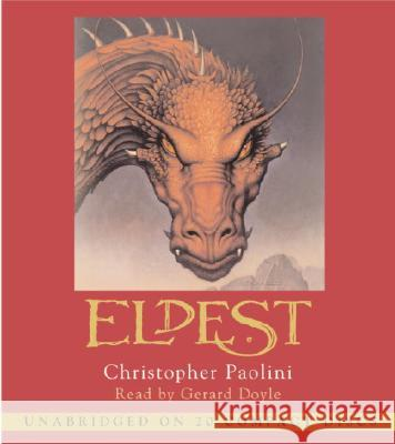 Eldest: Inheritance, Book II - audiobook Christopher Paolini Gerard Doyle 9780307280725 Listening Library