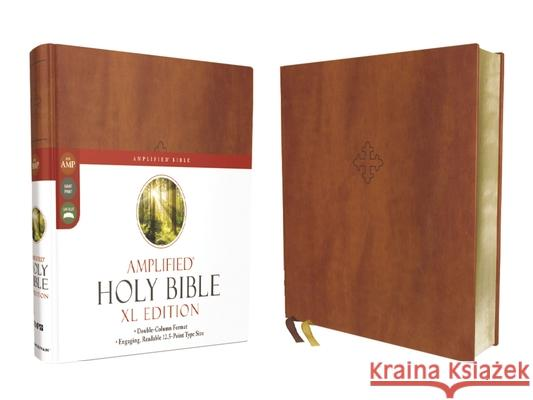 Amplified Holy Bible, XL Edition, Leathersoft, Brown  9780310109426