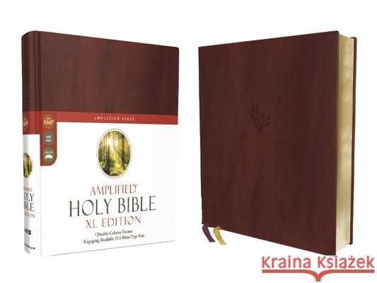 Amplified Holy Bible, XL Edition, Leathersoft, Burgundy  9780310109433