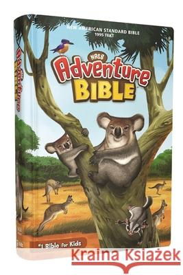 Nasb, Adventure Bible, Hardcover, Full Color Interior, Red Letter Edition, 1995 Text, Comfort Print Lawrence O. Richards 9780310112709