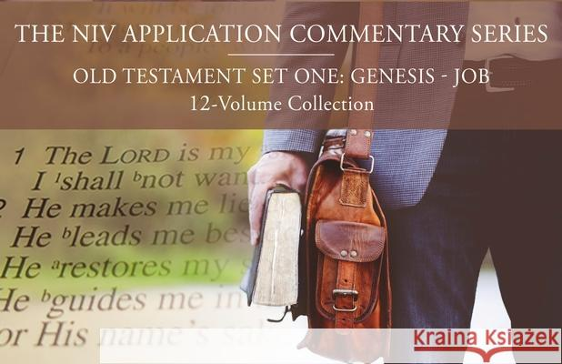 The NIV Application Commentary, Old Testament Set One: Genesis-Job, 12-Volume Collection John H. Walton Peter E. Enns Roy Gane 9780310118237