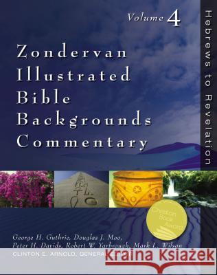 Zondervan Illustrated Bible Backgrounds Commentary: Hebrews to Revelation; Volume 4 Clinton E. Arnold 9780310218098