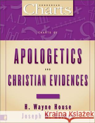 Charts of Apologetics and Christian Evidences H. Wayne House Joseph M. Holden 9780310219378