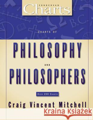 Charts of Philosophy and Philosophers Craig Mitchell Craig Vincent Mitchell 9780310270928