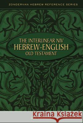 Interlinear Hebrew/English Old Testament-PR-Heb/NIV John R., III Kohlenberger 9780310402008