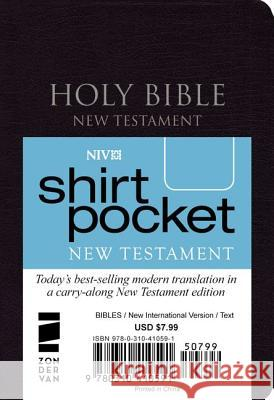 Shirt-Pocket New Testament-NIV Zondervan Publishing 9780310410591