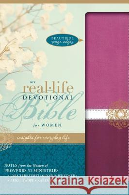 Real-Life Devotional Bible for Women-NIV Lysa TerKeurst 9780310421047