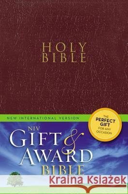 Gift and Award Bible-NIV Zondervan Publishing 9780310434368
