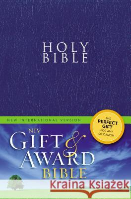 Gift and Award Bible-NIV Zondervan Publishing 9780310434399