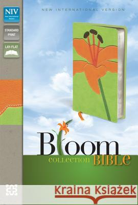 Bloom Collection Bible-NIV-Tiger Lily Zondervan Publishing 9780310435808