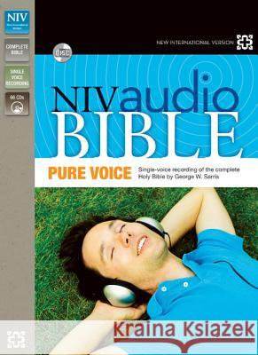 Pure Voice Audio Bible-NIV Zondervan Publishing                     George W. Sarris 9780310436478