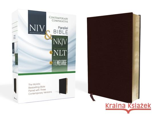 Contemporary Comparative Side-By-Side Bible-PR-NIV/NKJV/NLT/MS Zondervan Bibles   9780310436935 Zondervan
