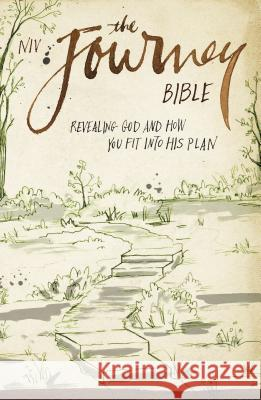NIV, The Journey Bible, Paperback : Revealing God and How You Fit into His Plan Zondervan Publishing 9780310441663
