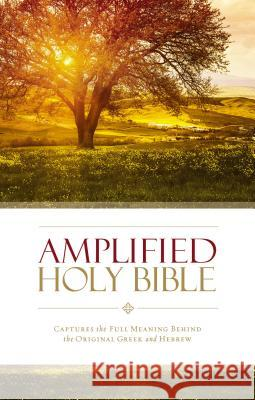 Amplified Holy Bible, Hardcover : Captures the Full Meaning Behind the Original Greek and Hebrew  9780310443872