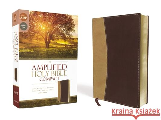 Amplified Bible-Am-Compact: Captures the Full Meaning Behind the Original Greek and Hebrew  9780310444008