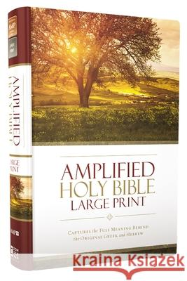 Amplified Holy Bible, Large Print, Hardcover : Captures the Full Meaning Behind the Original Greek and Hebrew  9780310444039