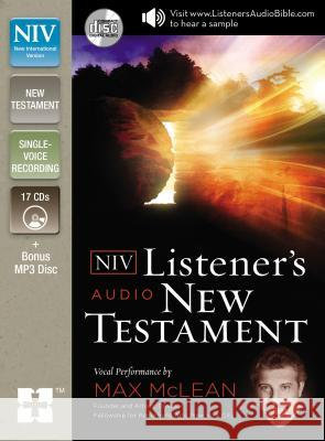 Listener's Audio New Testament-NIV Zondervan Publishing 9780310444367