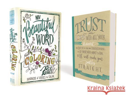 Beautiful Word Coloring Bible-NIV: Hundreds of Verses to Color  9780310445579
