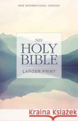 NIV, Holy Bible, Larger Print, Paperback Biblica 9780310446514