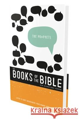 NIV, the Books of the Bible: The Prophets, Hardcover: Listen to God's Messengers Proclaiming Hope and Truth Biblica 9780310448044