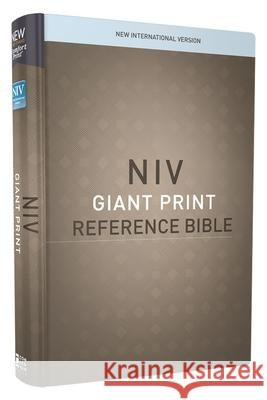 NIV, Reference Bible, Giant Print, Hardcover, Red Letter Edition, Comfort Print Zondervan 9780310449423