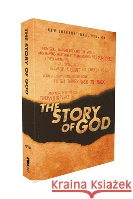 Niv, the Story of God, Paperback Zondervan 9780310452560