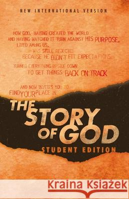 Niv, the Story of God, Student Edition, Paperback Zondervan 9780310452614