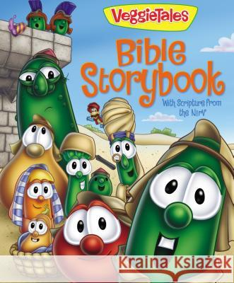 VeggieTales Bible Storybook: With Scripture from the NIRV Cindy Kenney 9780310710080