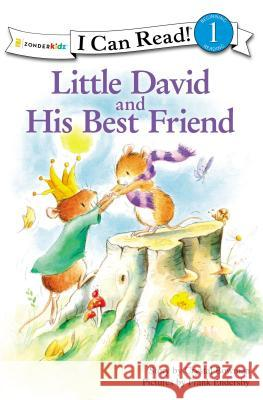 Little David and His Best Friend Crystal Bowman Frank Endersly 9780310717102