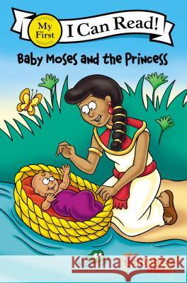 The Beginner's Bible Baby Moses and the Princess Kelly Pulley 9780310717676